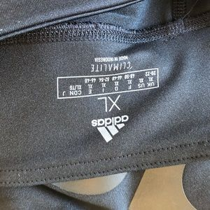 adidas Pants - ADIDAS Linear Legging Black on Black